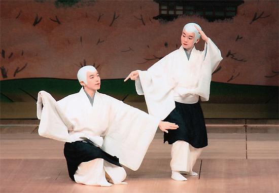 日本舞踊 娘道成寺の坊主